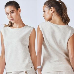 Fabletics French Terry Anne Muscle Sweatshirt S